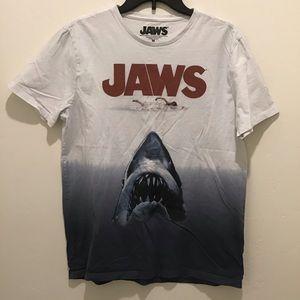 Jaws t shirt, size medium